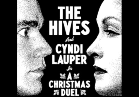 "New Hives & Cyndi Lauper – ""A Christmas Duel"""