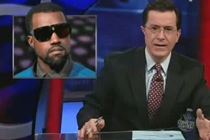 Stephen Colbert Declares War On Kanye West