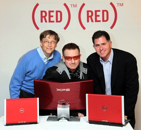 U2, Killers, Coldplay Team Up For Red(WIRE)