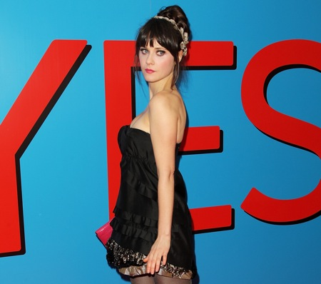 Zooey Deschanel Does Synth Pop For The New Jim Carrey Flick