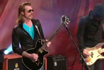 "Eagles Of Death Metal Tell Leno They Really ""Wannabe In LA"""