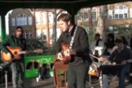 Loney Dear Goes Busking At Arnold Circus Bandstand
