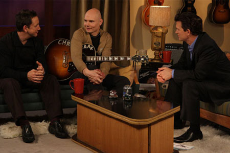 Smashing Pumpkins Talk Haters, Rock Out With Chris Isaak