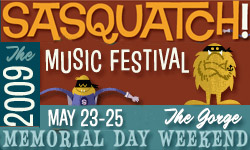 Sasquatch! 2009 Line-Up: Jane's Addiction, NIN, YYYs, Animal Collective & Zach Galifianakis
