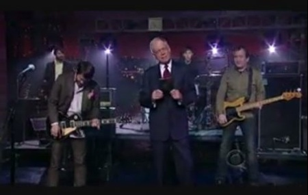 """Cursive Crush """"From The Hips"""" On Letterman"""