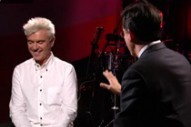 David Byrne On Stephen Colbert, Bad Reviews