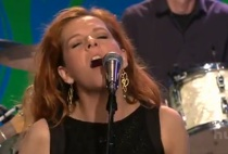 "Neko Case Brings ""People Got A Lotta Nerve"" To Leno"