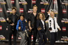 Metallica Play With Two Bassists, But Not Eminem, At Rock Hall Induction