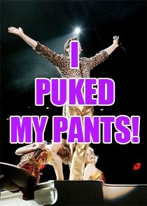 Hugh Jackman Pukes His Pants - Stereogum