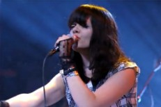 "Bat For Lashes Brings ""Daniel"" To Kimmel"