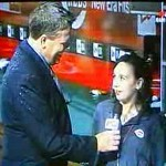 Sports Reporter Gets Rare Interview With Chick Who Fell Down On TV