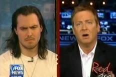 Andrew W.K. Interestingly Faces A Fox News Question (Or, A Fox News Question Interestingly Faces Andrew W.K.)