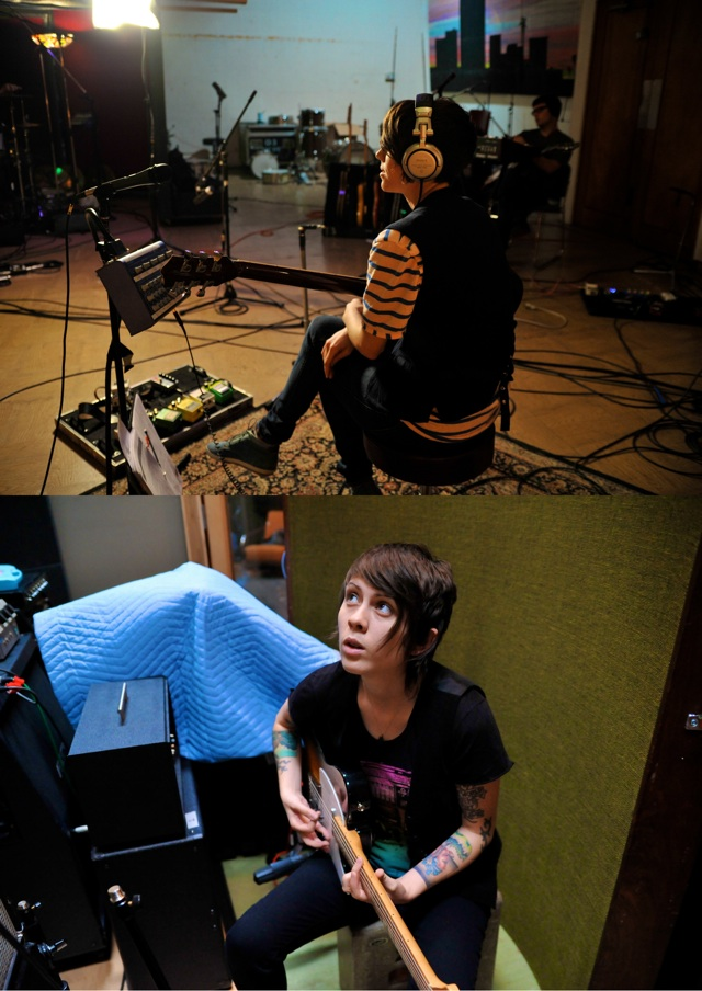 Tegan & Sara In The Studio, 2009 4