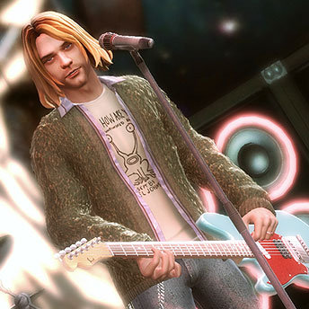 <em>Guitar Hero 5</em> Lets You Be Kurt Cobain