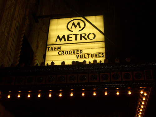 Them Crooked Vultures @ Metro, Chicago 8/9/09