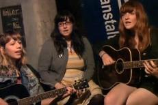 Vivian Girls Go Acoustic In Austria