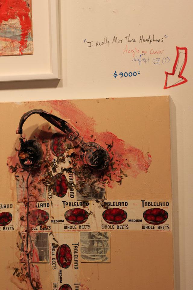 Ryan Adams Art Opening/Auction @ Morrison Hotel Gallery, NYC 9/23/09 21