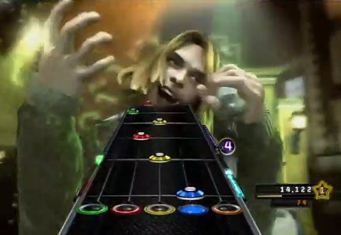 Unlocked Kurt Cobain Sings Bon Jovi In <em>Guitar Hero 5</em>