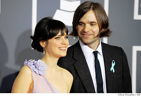 Ben Gibbard & Zooey Deschanel Married Yesterday