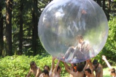 The Flaming Lips & Naked Bicyclists'
