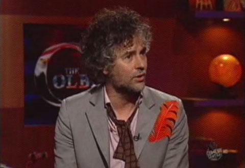 Flaming Lips Take <em>Embryonic</em> To Colbert Nation