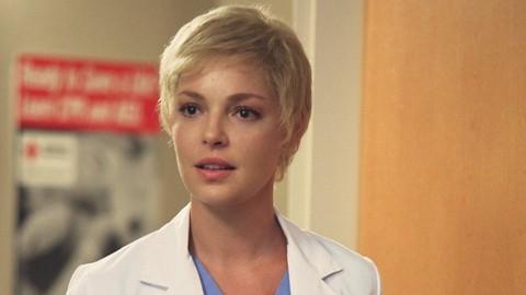 Grey's Anatomy S06E04: Foxy New Guy In, Cancer-Face Heigl