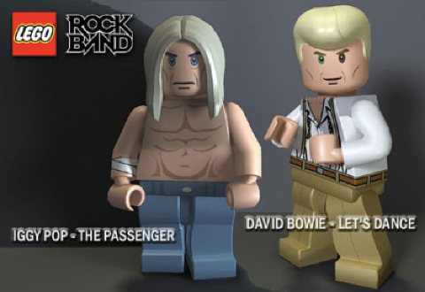 Iggy, Bowie Get Legofied For Lego Rock Band