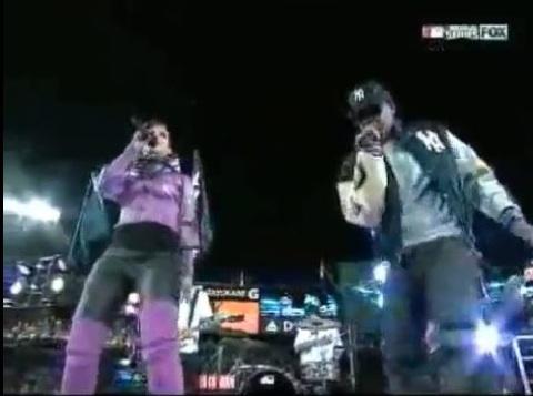 Jay-Z & Alicia Keys Played The World Series