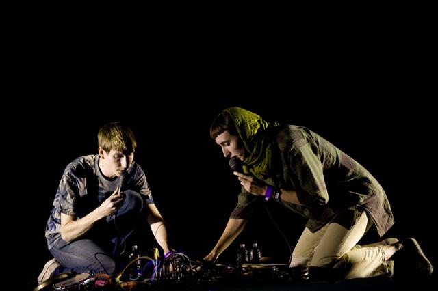 Thom Yorke/Lucky Dragons @ Orpheum, Los Angeles 10/4/09 26
