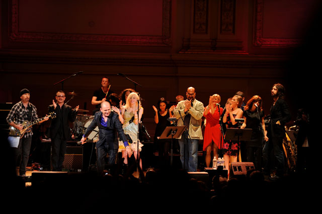 Antony, Bono, Courtney, Scarlett, Rufus & Friends @ Carnegie Hall, NYC 10/4/09