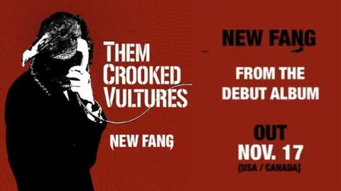 "New Them Crooked Vultures – ""New Fang"""