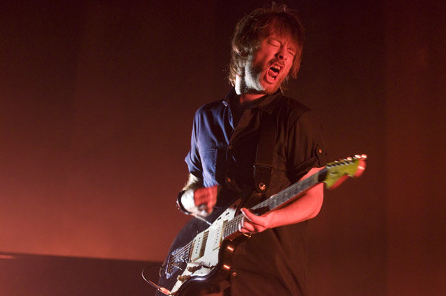Thom Yorke/Lucky Dragons @ Orpheum, Los Angeles 10/4/09 2