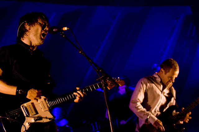 Thom Yorke/Lucky Dragons @ Orpheum, Los Angeles 10/4/09 1
