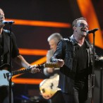 U2 Jam With Black Eyed Peas, Jagger, Springsteen At Rock Hall 25th Anniversary Show