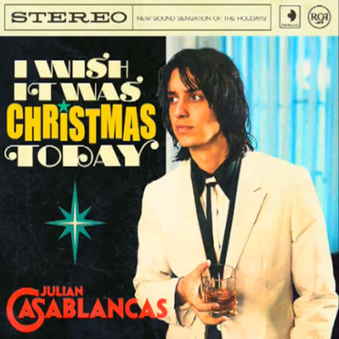 "Julian Casablancas Covers ""I Wish It Was Christmas Today"""
