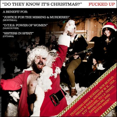 "Fucked Up & Friends Cover ""Do They Know It's Christmas?"""