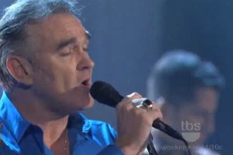"""Morrissey To George Lopez: """"Don't Make Fun Of Daddy's Voice"""""""