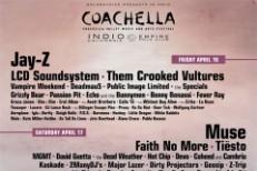 Coachella 2010 Lineup: Jay-Z, Gorillaz, Pavement, Thom Yorke????