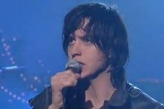 "Julian Casablancas Did ""Out Of The Blue"" On Letterman"
