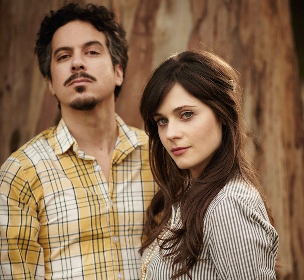 She & Him Press Photo 2010
