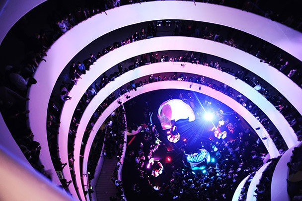 Animal Collective & Danny Perez's Transverse Temporal Gyrus @ The Guggenheim Museum