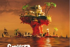 Gorillaz Plastic Beach Album Art