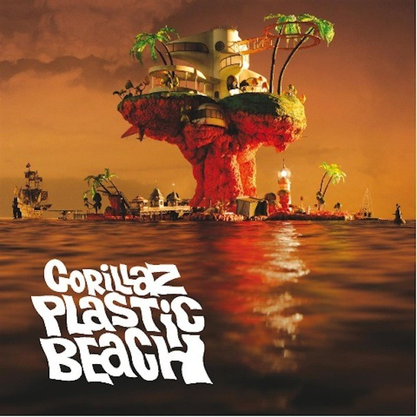 Gorillaz Plastic Beach Album Art