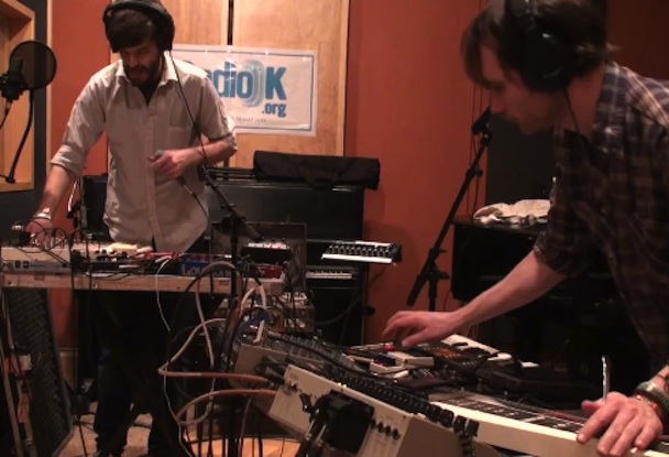 "Holy Fuck – ""SHT MTN,"" ""Stay Lit,"" & ""Latin America"" (Live At Radio K)"