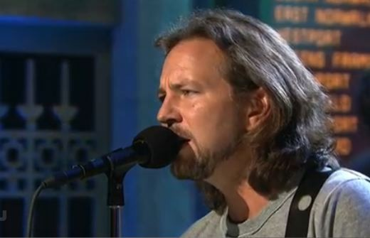 Pearl Jam On Saturday Night Live