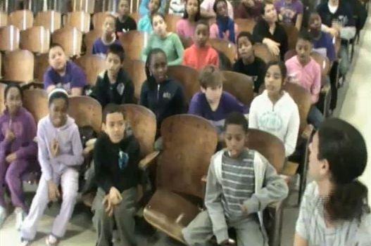 "Staten Island 5th Graders Sing ""Lisztomania"""