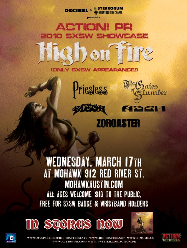 High On Fire SXSW