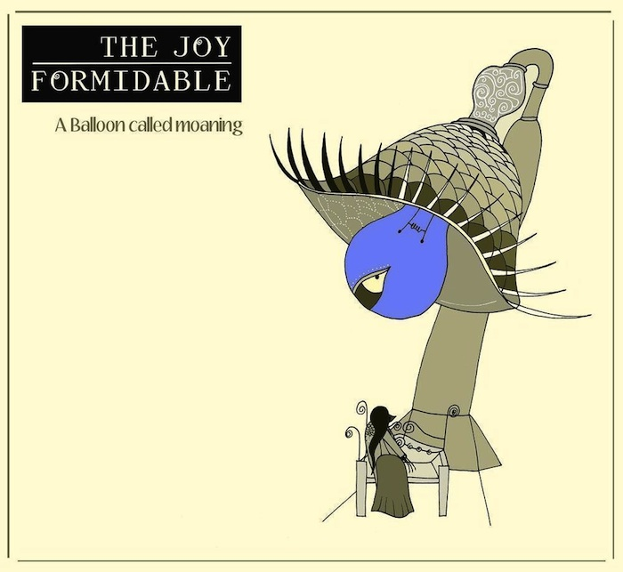 Joy Formidable –  A Balloon Called Moaning Album Art