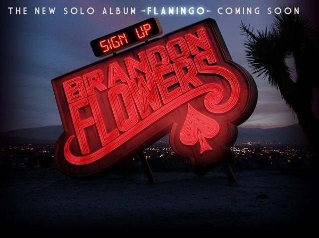 Brandon Flowers Announces 'Flamingo'