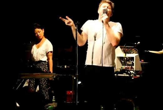 "LCD Soundsystem Do ""Drunk Girls"" In Williamsburg"